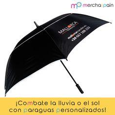 Llueva o haga sol la mejor forma de protegerse es con estos paraguas de #golf #personalizados.  www.merchaspain.com   #paraguas #umbrella #golf #Mallorca #promotionalgifts #merchandising #sponsors #regalos #gifts #sun #rain