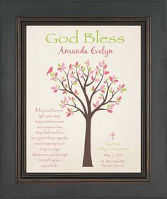First Communion Gift Personalized Gift for by KreationsbyMarilyn