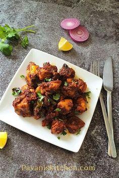 Chicken Ghee Roast | Spicy Chicken Roast - Pavanis Kitchen