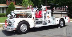 1962 Seagraves Fire Truck.