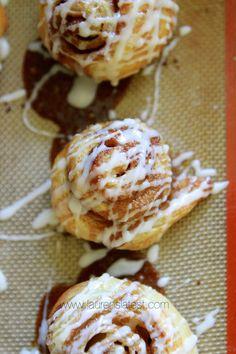 "Puff Pastry Cinnamon Rolls {Lauren's Latest}..""the super speedy way to make cinnamon rolls that kinda sorta taste like toaster's strudel without the fruit!"""