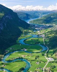 Nordfjord 🍃❤🍃 Norway Congrats @umbetravel Use #map_of_europe #Norway