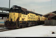 RailPictures.Net Photo: YRC 1504 York Railway EMD CF7 at York, Pennsylvania by Matthew Grim