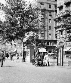 Karoly körút, Dob utca coener, 1940