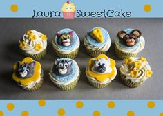 Tom and Jerry cupcakes by MUMS CAKE HOUSE Tom and Jerry Theme