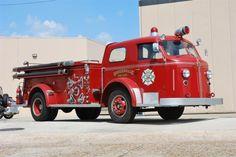 1953 American LaFrance pumper truck