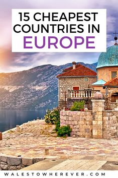 Believe me, it's entirely possible to travel Europe on a budget. I've been doing it for almost 10 years! Some of the most beautiful countries in Europe are super budget-friendly. In fact, Europe… Backpacking Europe, Europe Travel Guide, Budget Travel, Travel Guides, Travel Hacks, Travel Gadgets, Food Travel, Travel Info, Travel Goals