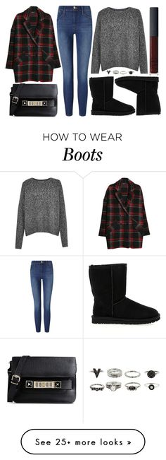 """""""street style"""" by sisaez on Polyvore featuring MANGO, Proenza Schouler, French Connection, Frame Denim, UGG Australia and NARS Cosmetics"""