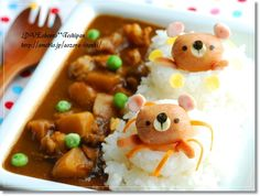 swimming bear curry