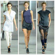 My last three from 3.1 Phillip Lim, such a fierce, strong collection!