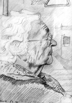 Oma (1991) (My grandmother Marie Kersten-Kuster) Graphite pencil drawing (Pentel 0.5 mm, 2B) on Canson Bristol paper (29.7 x 21 x 0.01 cm - A4 format) Sales info: info@corneakkers.com See more: www.corneakkers.com Follow me at twitter: @Corne_Akkers  #thehague #den haag #realism #realisme #impressionism #impressionisme #Corné #Corne #Akkers #dutch #art #arts #arte #kunst #drawing #tekening #zeichnung #nederland #netherlands