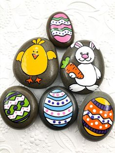Passion of Jesus Easter Story Stones, Resurrection Story Stones, Jesus Story Stones, Easter Basket gift, Story Rocks Pebble Painting, Pebble Art, Stone Painting, Rock Painting Ideas Easy, Rock Painting Designs, Painted Rocks Craft, Painted Stones, Painted Pebbles, Easter Paintings
