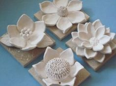 Flower Garden Wall Hanging, ceramic wildflower, blackberry, camelia, and daisy wall sculptures Ceramic Wall Art, Ceramic Clay, Ceramic Pottery, Ceramics Projects, Clay Projects, Clay Crafts, Ceramic Flowers, Clay Flowers, Art Floral