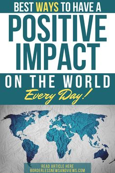 Ways You Can Have a Positive Impact on the World Every Day Helping Hands, Helping Others, You Gave Up, You Can Do, Head In The Sand, Your Location, Environmental Issues, Above And Beyond, Singles Day