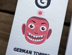 FPO: German Torres Business Cards