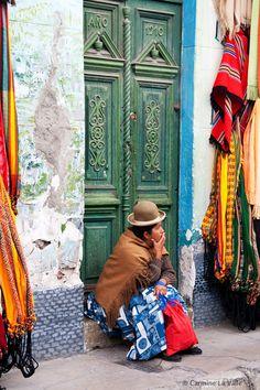 Lady of La Paz #bolivia