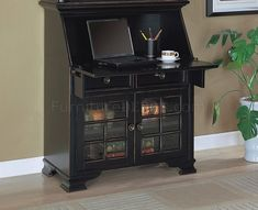 99+ Black Secretary Desk - Home Office Furniture Desk Check more at http://www.sewcraftyjenn.com/black-secretary-desk/