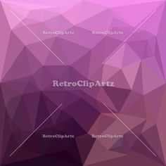 Fandango Lavender Abstract Low Polygon Background Vector Stock Illustration. Low polygon style illustration of a blue abstract geometric background. #illustration #FandangoLavenderAbstract