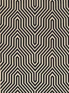 DecoratorsBest - Detail1 - Sch 66192 - Vanderbilt Velvet - Noir - Fabrics - DecoratorsBest