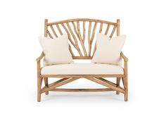 """""""7 Reasons to Love a Rustic Loveseat"""" - Reason #5 Loveseat #1404 by La Lune Collection"""