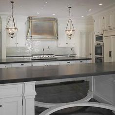 Kitchen Lighting Over Island oil rubbed bronze | , stretcher based island, oil rubbed bronze pulls, oil rubbed bronze ...