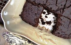 dairy-, gluten-, sugar-free brownies. If they taste any good, it will be a miracle.