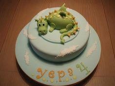 BOLO DRAGAO/DRAGON CAKE by fati dream cakes, via Flickr