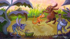 Soon I will be heading to the 2014 SCBWI Conference in LA to toot my own horn. It will be fun to see all your familiar faces an. Toot, Grinch, Party Time, Moose Art, Illustration, Fun, Animals, Garden, Design
