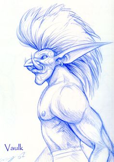 Vaulk Troll by Dustmeat
