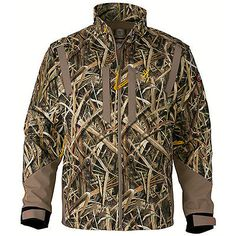 Hats and Headwear 159035: Browning Jacket Wicked Wing Wndark L Mossy Oak Grass Blades Xl 3043262504 -> BUY IT NOW ONLY: $132.3 on eBay!