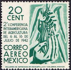 Stamp: Corn (Mexico) (Interamerican agricult.Conference) Mi:MX 825,Sn:MX C126