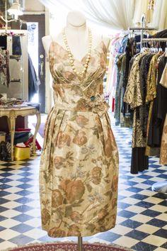 Cabaret Vintage - Beautiful 1950's Vintage Cocktail Dress, $185.00 (http://www.cabaretvintage.com/vintage-dresses/beautiful-1950s-vintage-cocktail-dress/)  #vintagedress  #vintage #dressvintage #shopping #vintagestore #vintagefashion #ilovevintage #vintagelove #vintagegirl #vintageshopping #vintageclothing #vintagefinds #vintagelover #vintagelook #followme #dressoftheday #ootd  #instastyle #torontovintage #toronto #queenwest #cabaretvintage