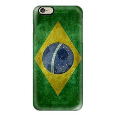 Vintage retro flag of Brazil with soccer football insert - iPhone 7... (125 BRL) ❤ liked on Polyvore featuring accessories, tech accessories, iphone case, slim iphone case, iphone cases, iphone cover case, vintage iphone case and retro iphone case