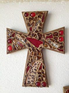 Unique Wall Crosses | Decorative Wall Cross. $35.00, via Etsy.