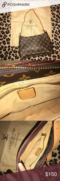 Like new! No proof of authenticity. Excellent leather craftsmanship. LV Bags