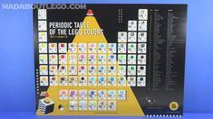 The Periodic Table of LEGO Colors V2.0.O Lego Police, Different Colors, Periodic Table, Shopping, Periodic Table Chart, Periotic Table