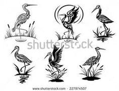 Stencil Bird In-Flight - Bing images