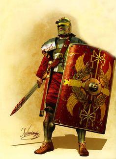 Roman Legionary, III Century AD.
