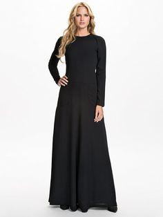 Black Split Maxi Dress - Filippa K