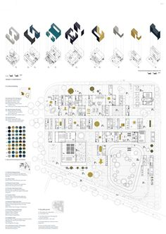 '1%, Forus Startup Ecosystems', entry for the Stavanger, Norway site at Europan 13 competition, draftworks* architects