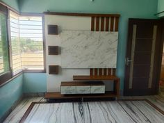 #woodworkingidea Lcd Units, Tv Cabinets, Entryway Bench, Home Improvement, Woodworking, Wall, Furniture, Design, Home Decor