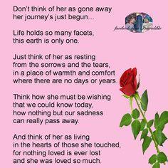 In loving memory of my neice