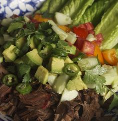 Make Salpicon, a simple meat salad, with leftover brisket or braised chuck roast and fresh chopped vegetables.