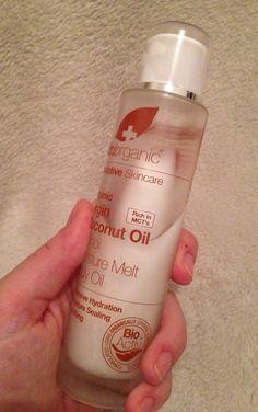 I Am Fabulicious: Dr Organic Virgin Coconut Oil Monoi Moisture Melt Body Oil