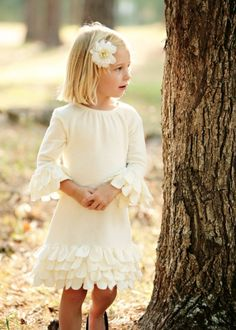 How sweet; cute as a little Easter dress.