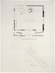 "Thom Mayne with Andrew Zago, ""6th Street: Fig. 16"" (1986) 