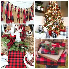 Buffalo Check Christmas Style Series full of decor, inspiration, ideas, and decor finds to add the classic fun feel of buffalo check to your Christmas.