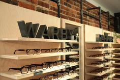 Warby Parker Display at Art In The Age