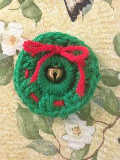 Crotchet wreath