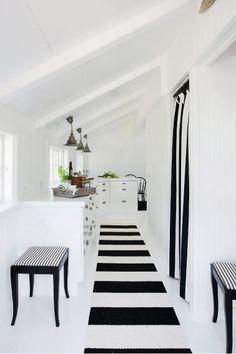 Negro y Blanco para una Casa en la Playa - Nordic Treats